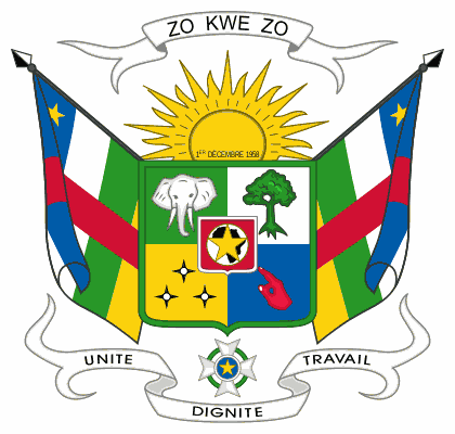 National Emblem of Central African Republic