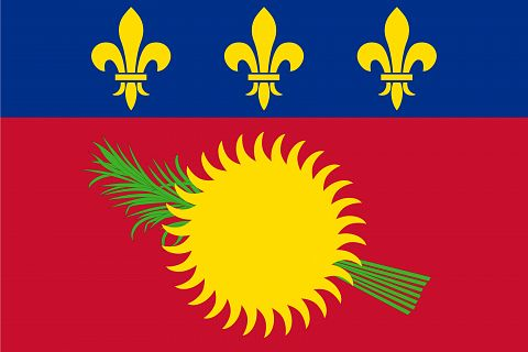 Guadeloupe National Flag